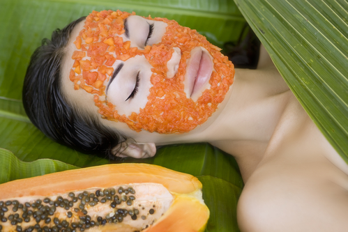 DIY-Papaya facial